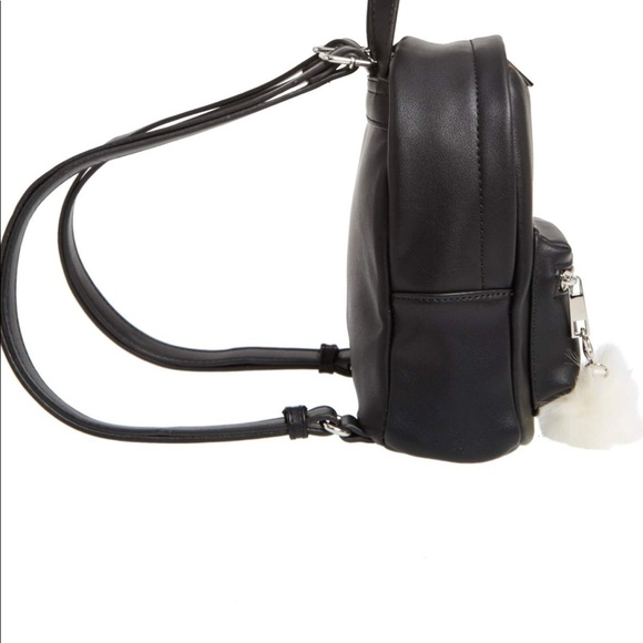 Faux Leather Mini Backpack 64eac5df5f677